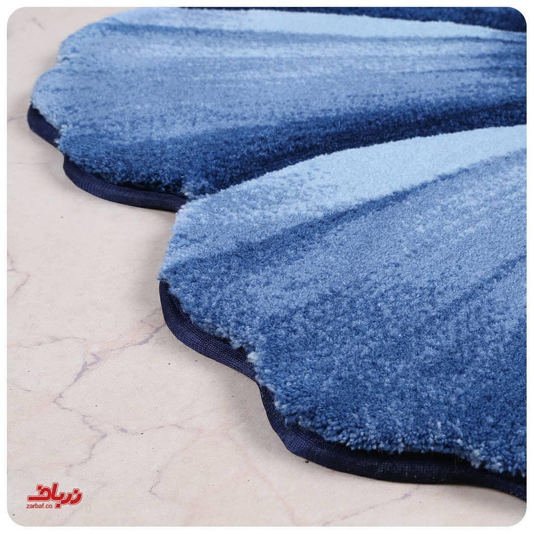 فرش سه بعدی زرباف طرح گلپر