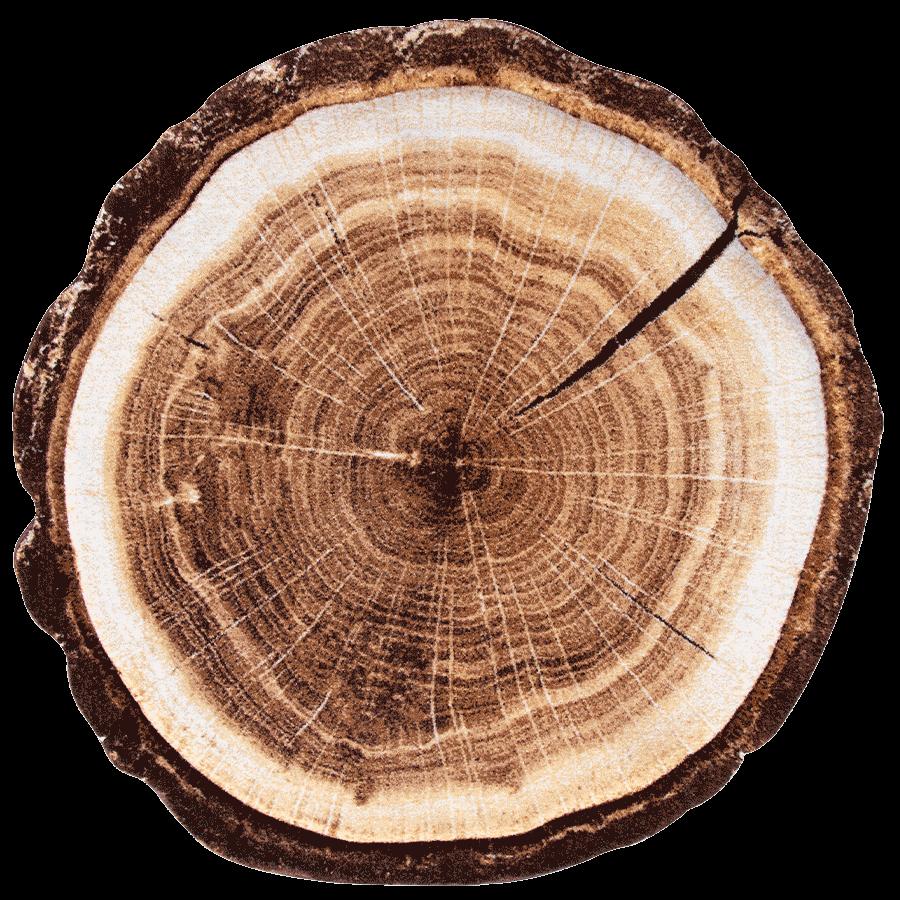 فرش سه بعدی زرباف طرح تنه درخت